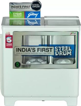 Godrej semi-automatic washing machine