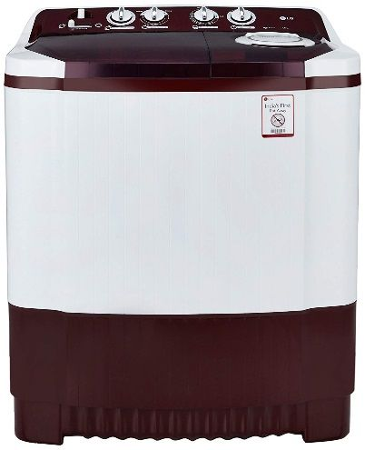 LG 7.5kg semi-automatic top-loading washing machine