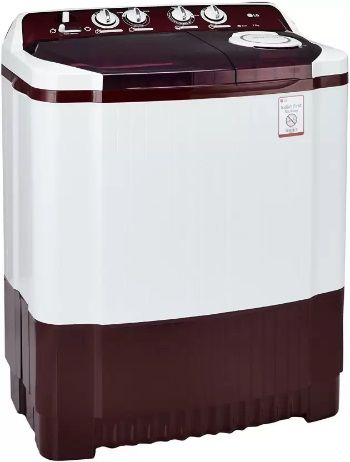 LG semi-automatic top-loading washing machine