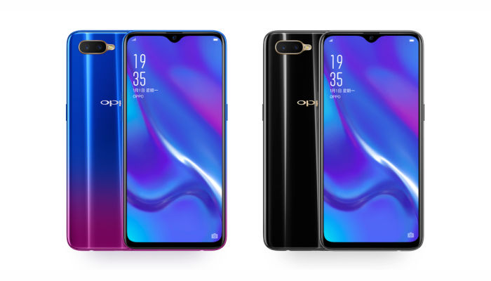 OPPO K1 Blue_and_Black_internal