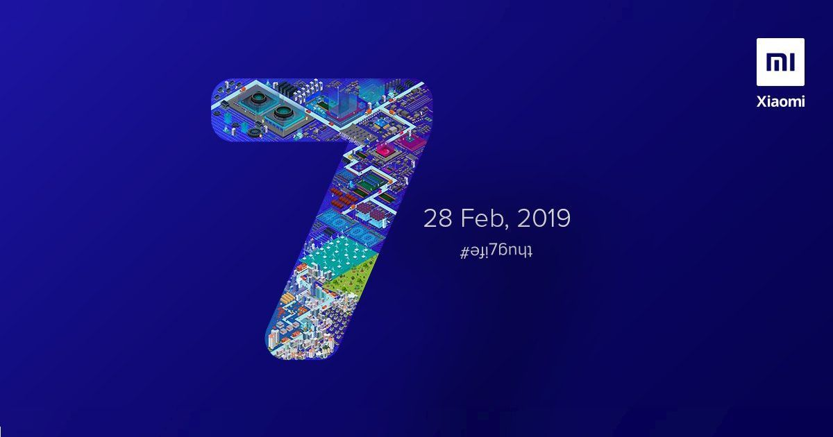 Xiaomi Redmi Note 7 to Launch in India on February 28th