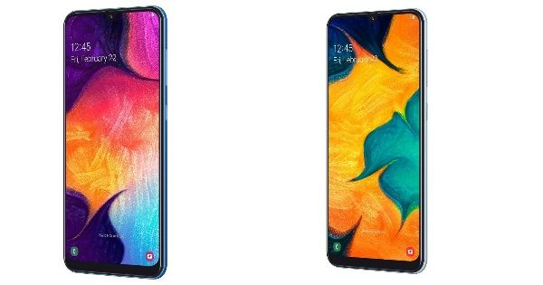 Samsung Galaxy A50 and A30 announced_featured