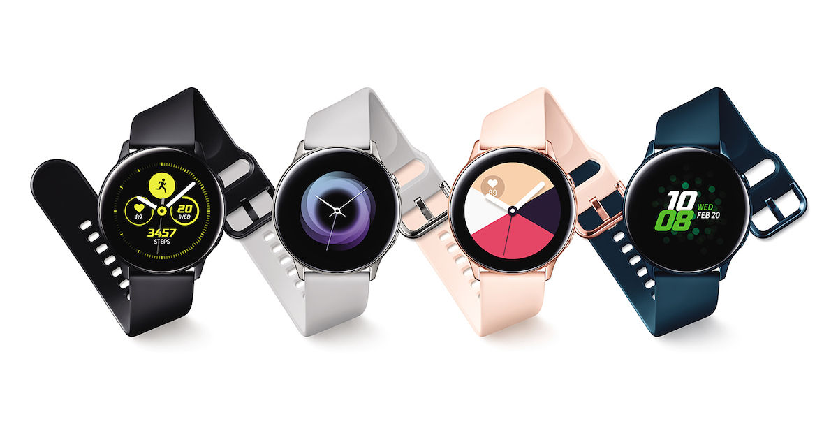 Samsung Galaxy Watch Active With Blood Pressure Monitoring Announced