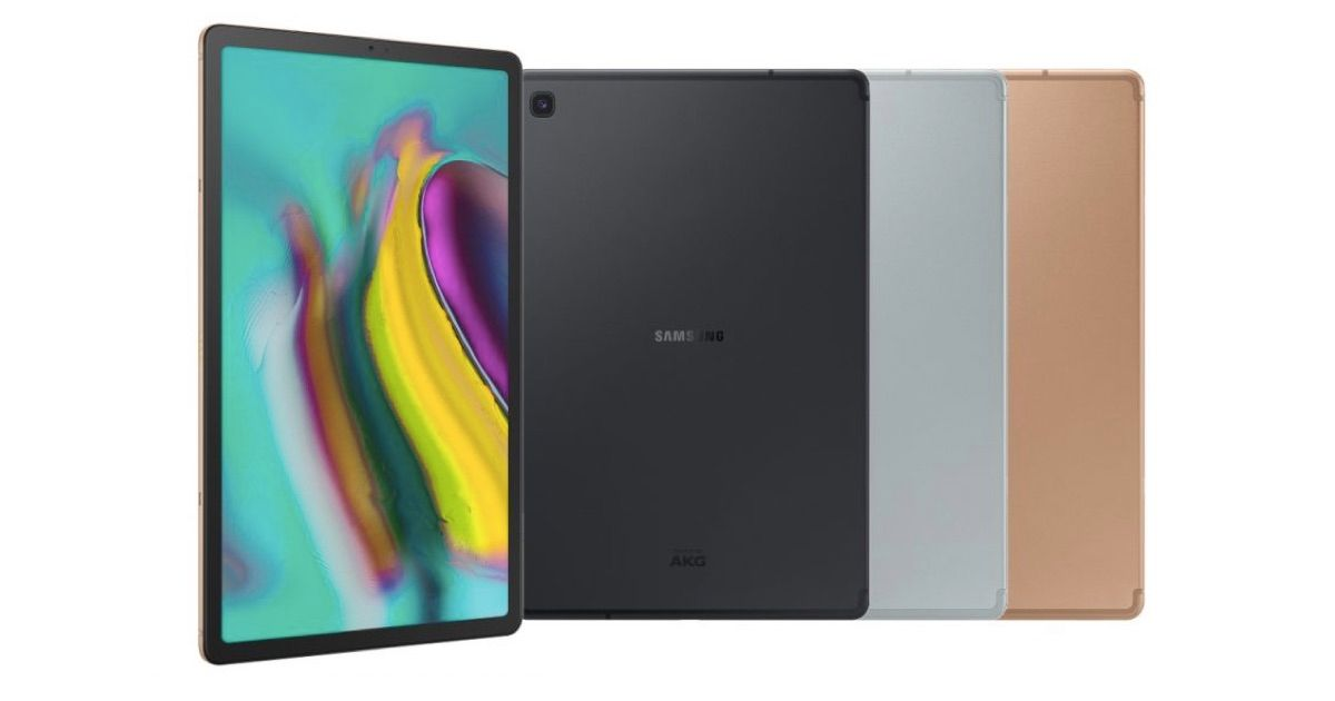 Samsung Unveils Galaxy Tab S5e and Tab A 10.1