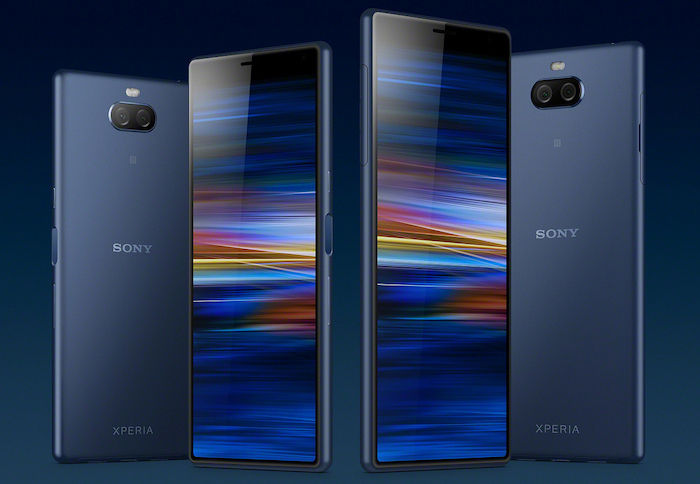 Sony Xperia 10 and Xperia 10 Plus at MWC 2019