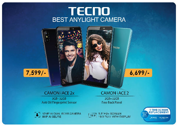 TECNO CAMON iACE2x and CAMON iACE2 launched in India
