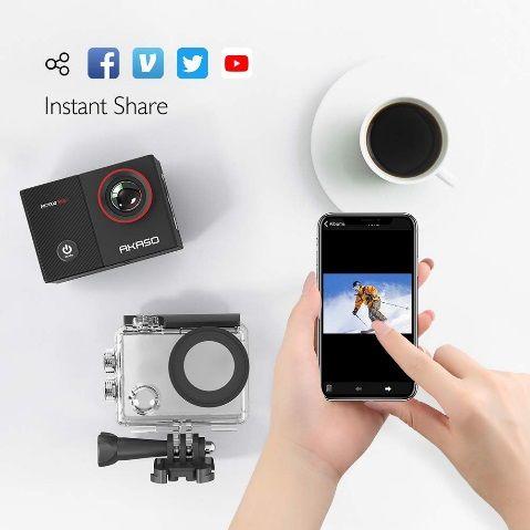AKASO EK7000 Pro Action Camera launched