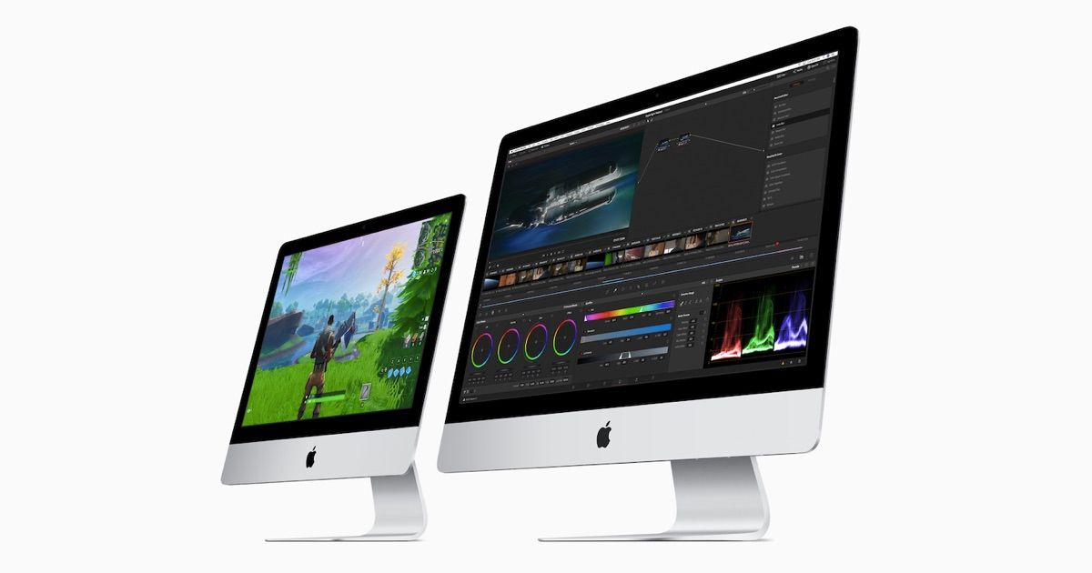 Apple updates iMac lineup with AMD Vega graphics and up to Intel 9th-gen processors