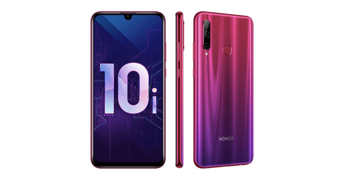 Honor 10i with Kirin 710 and Triple Rear Cameras Goes Official