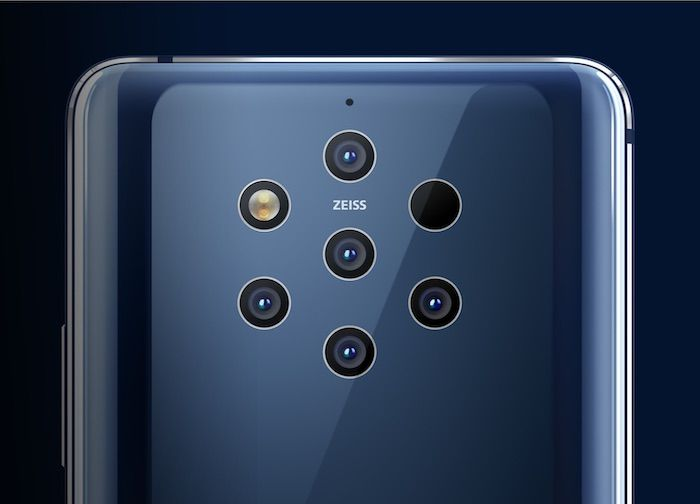 Nokia 9 PureView featured two 12-megapixel RGB sensors and three 12-megapixel monochrome sensors