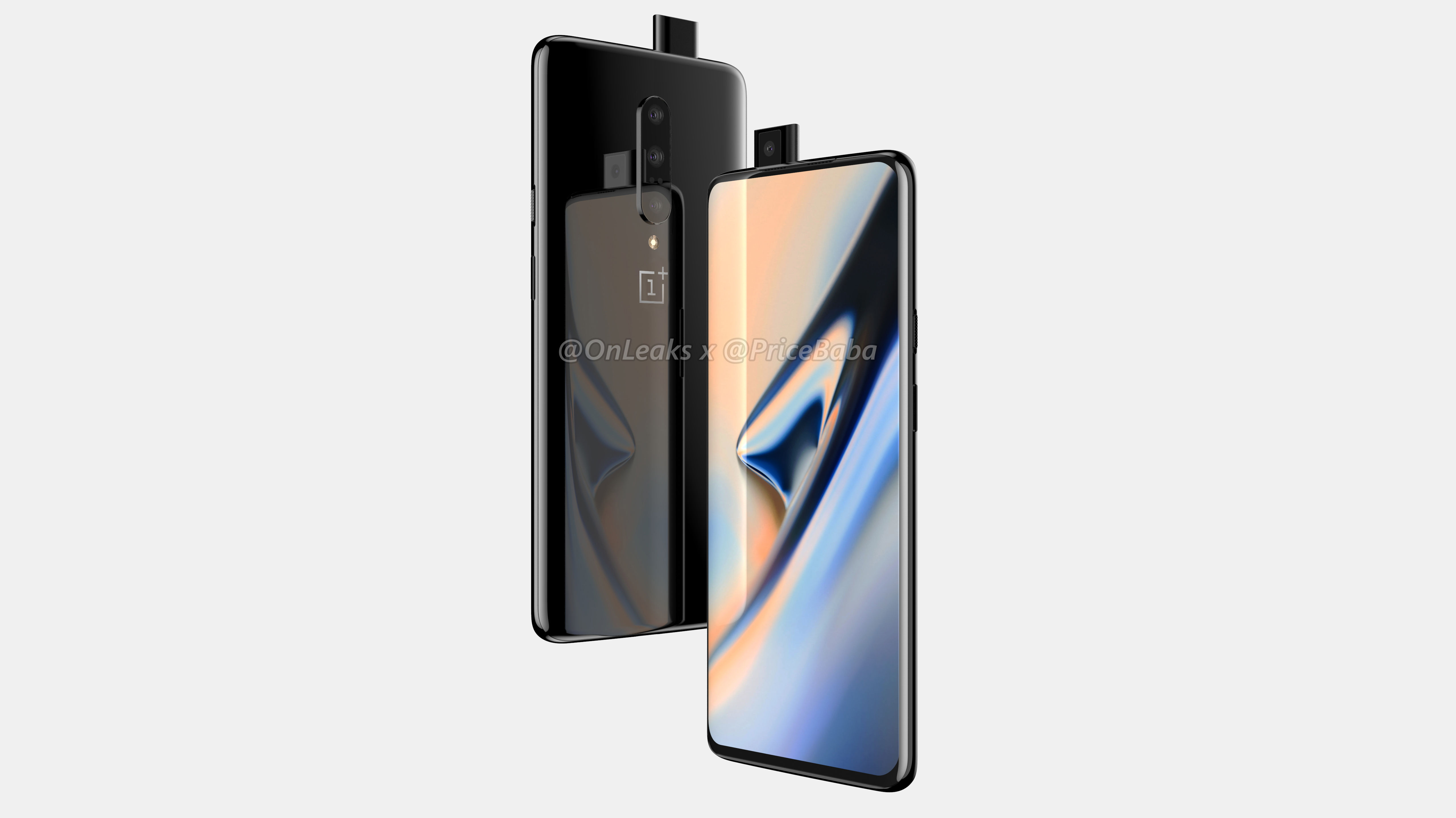 OnePlus 7 Renders Leak Show a Pop-up Selfie Camera With No 3.5mm Audio Jack in Sight