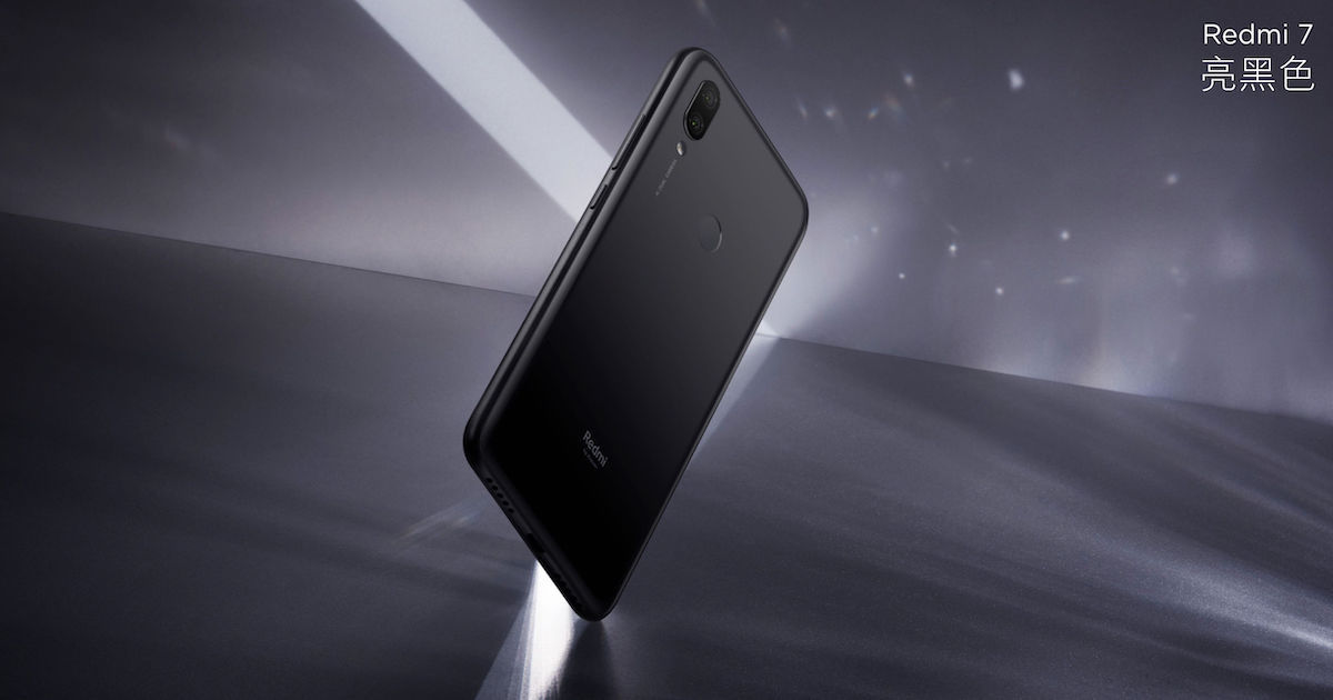 Xiaomi Redmi 7 with 6.26-inch Display and Snapdragon 632 launched in China