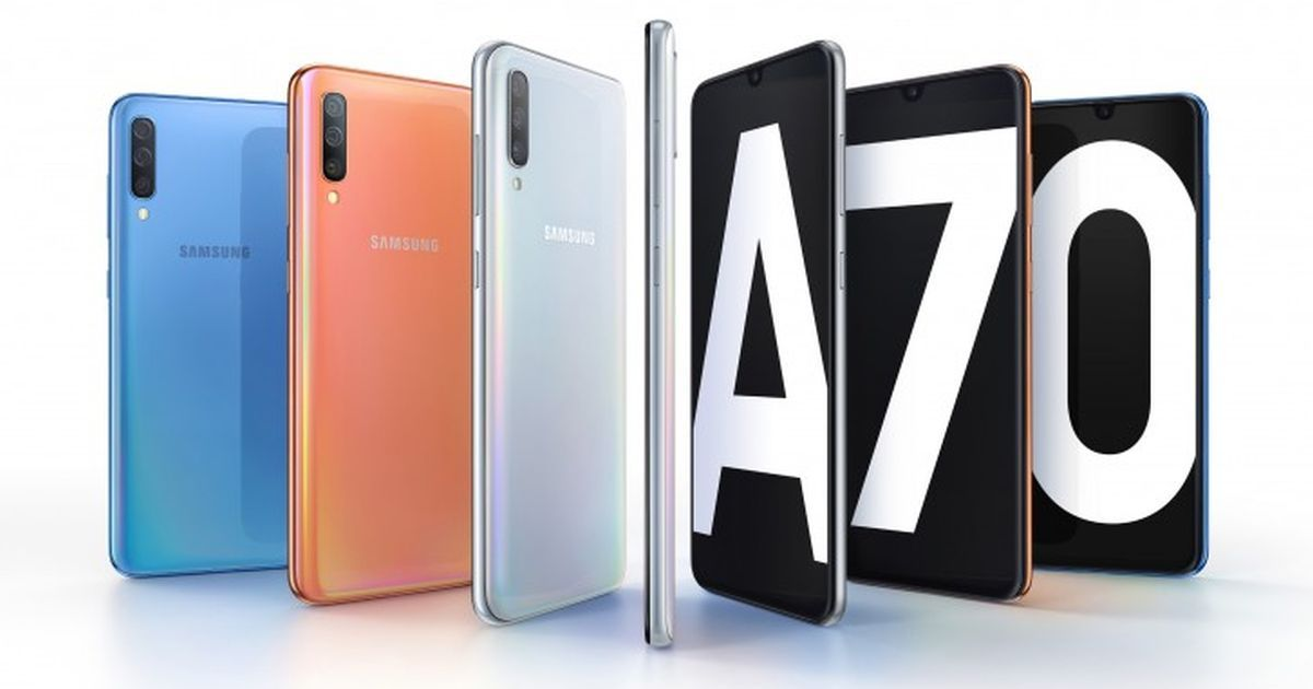 Samsung Galaxy A70 with 6.7-inch Display and 32MP Front Camera Announced