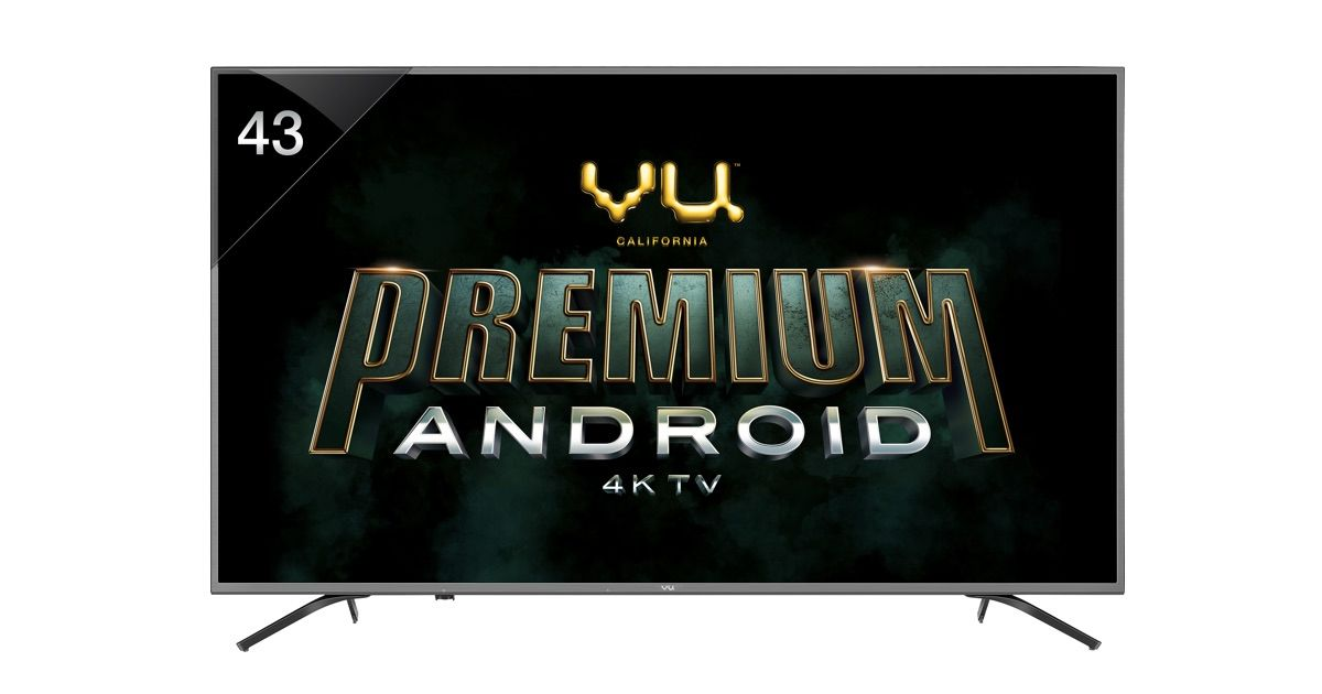 Vu Premium Android 4K TV Range With HDR 10 and Dolby Vision launched: price, specifications