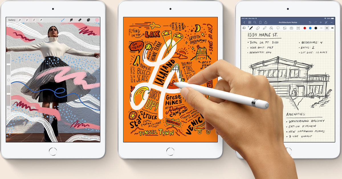 With the new iPad Mini, does Apple finally get into Note-land?