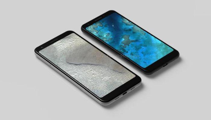 Google Pixel 3a and Pixel 3a XL Renders