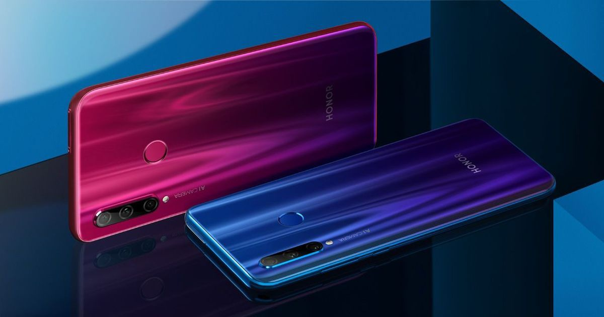 Honor 20i Debuts with 32MP Front Camera and Triple Rear Cameras