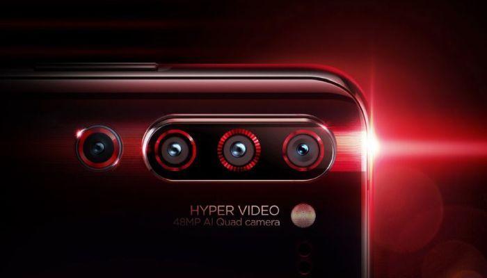 Lenovo Z6 Pro Quad Cameras