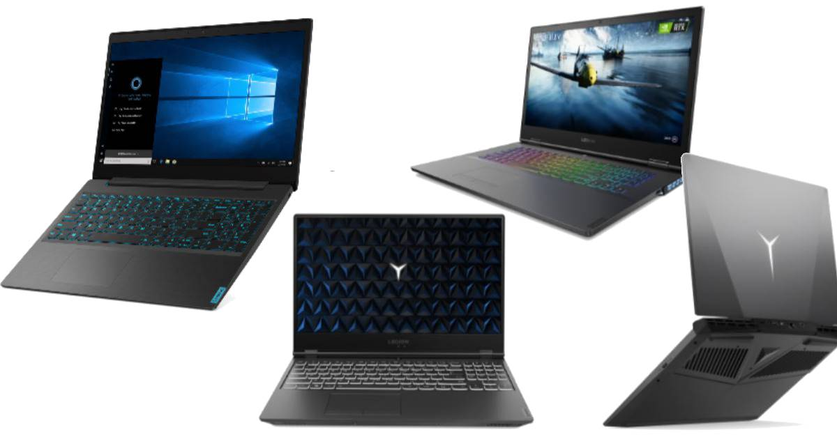 Lenovo Launches New IdeaPad L340, Legion Gaming Laptops With Intel's 9th-Gen CPUs