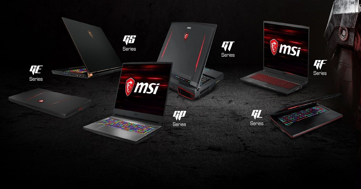 MSI Refreshes Its Gaming Laptops With 9th-Gen Intel Core chipsets and Nvidia GTX 16 series GPUs
