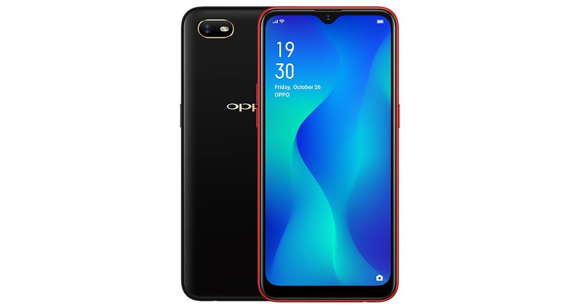 Oppo A1k With 6 1 Inch Display And 4 000mah Battery Launched For Rs