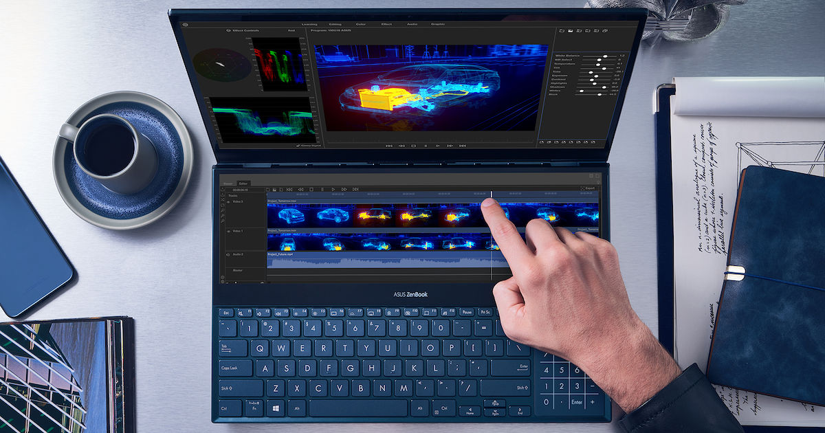 Computex 2019: ASUS Announces ZenBook Pro Duo With Dual Displays