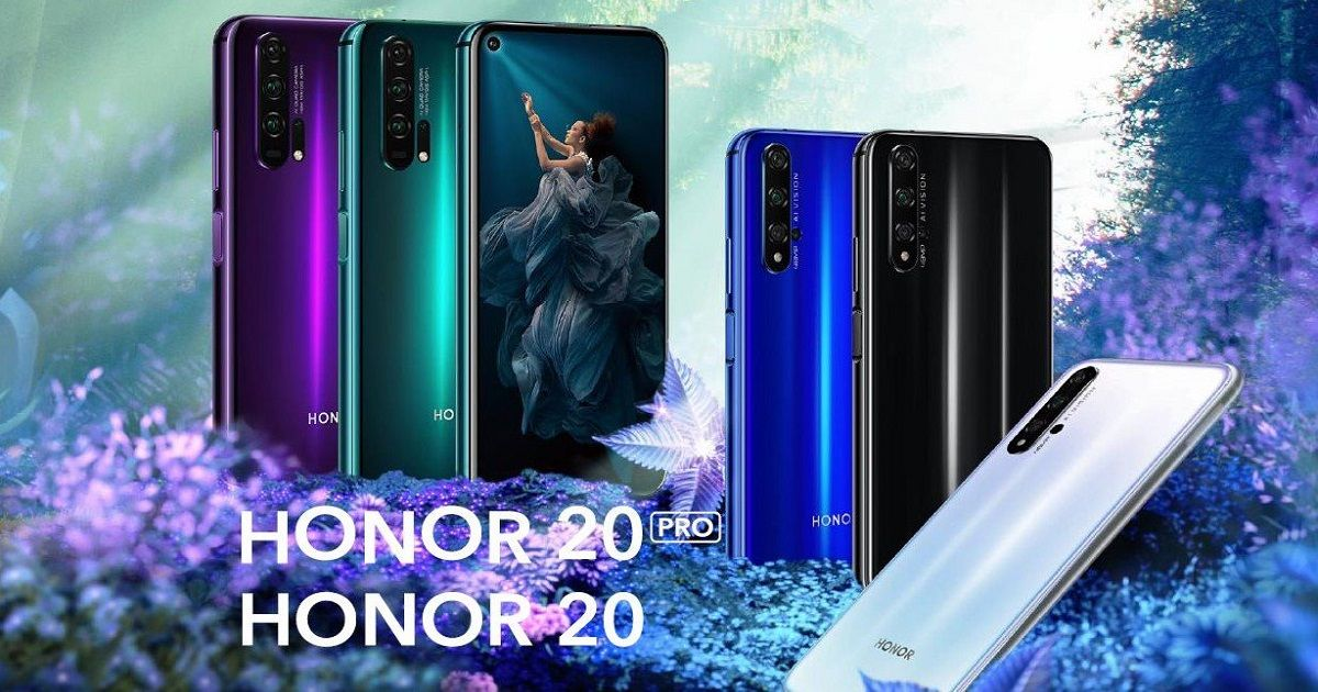 Honor 20 and 20 Pro with quad cameras and punch hole display launched: price, specifications