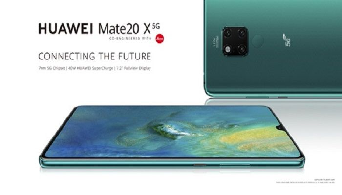 Huawei is bringing the 7.2in Mate 20 X 5G to Blighty