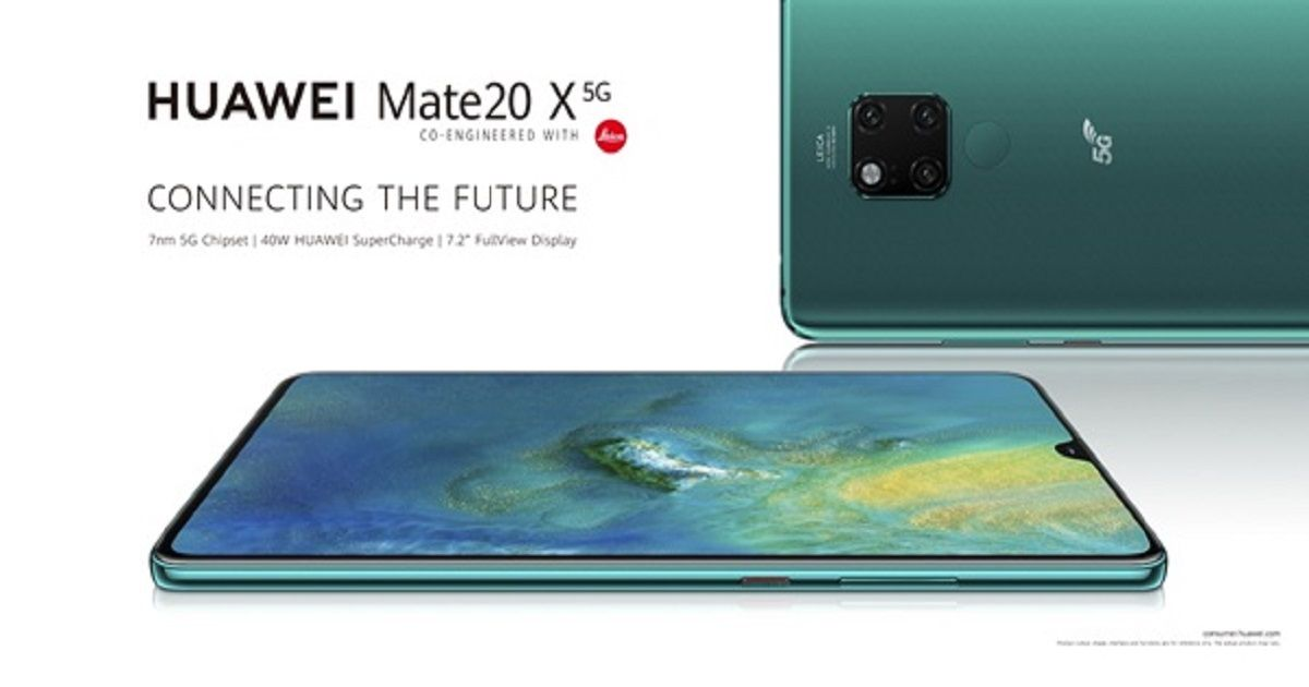 Huawei Mate 20 X (5G) Announced In The UK