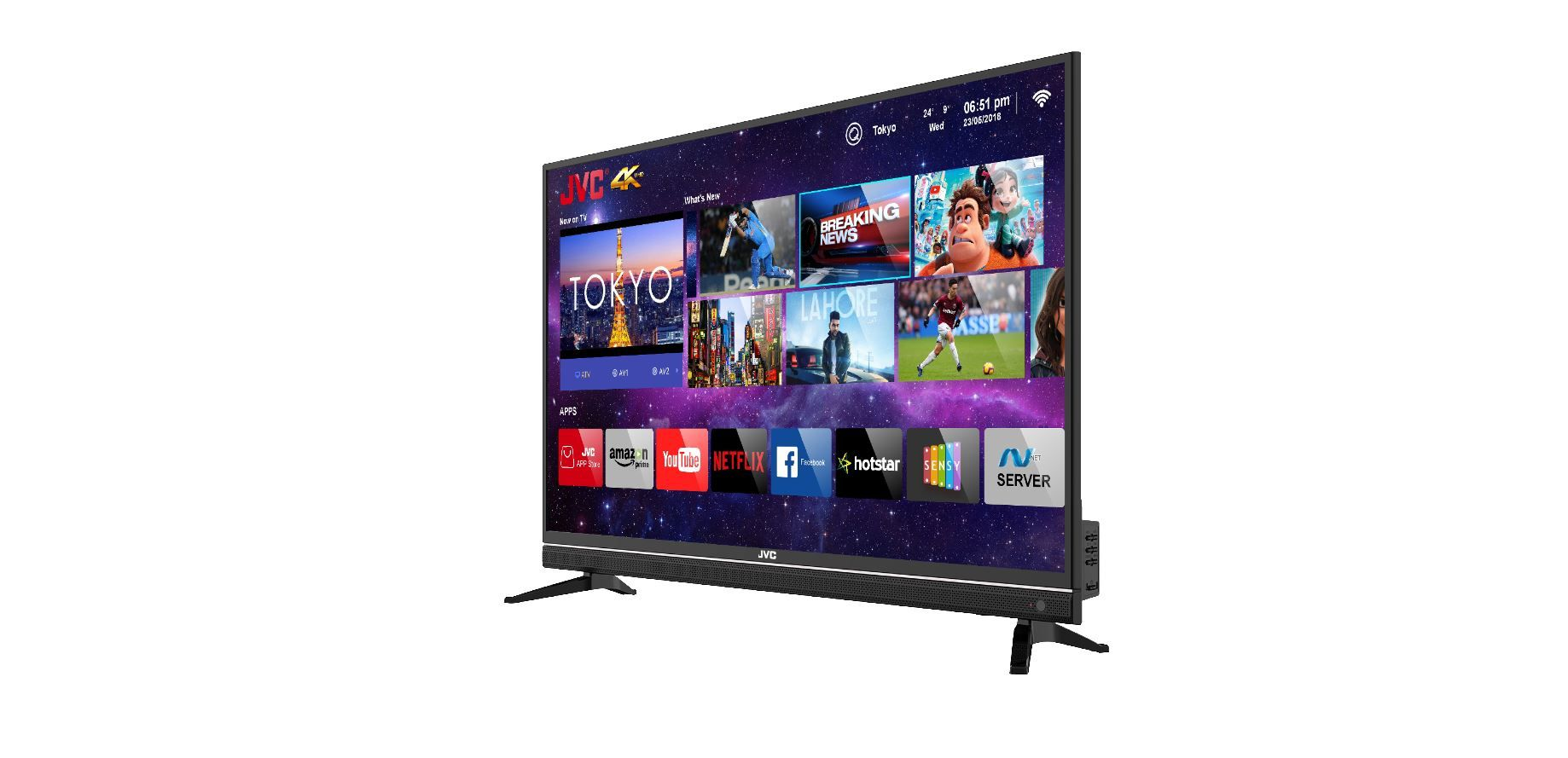JVC Launches 43-inch 4K Smart TV For Rs 24,999
