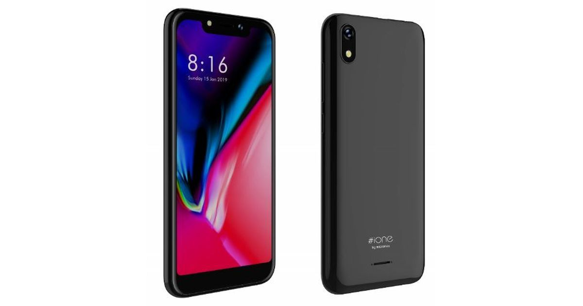 Micromax iOne with Notch Display Launched for Rs 4,999