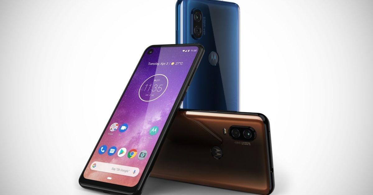 Motorola One Vision With Punch Hole Display And 48MP Camera Launched In India for Rs 19,999