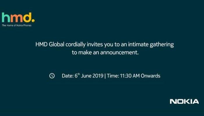 Nokia India June 6 invite