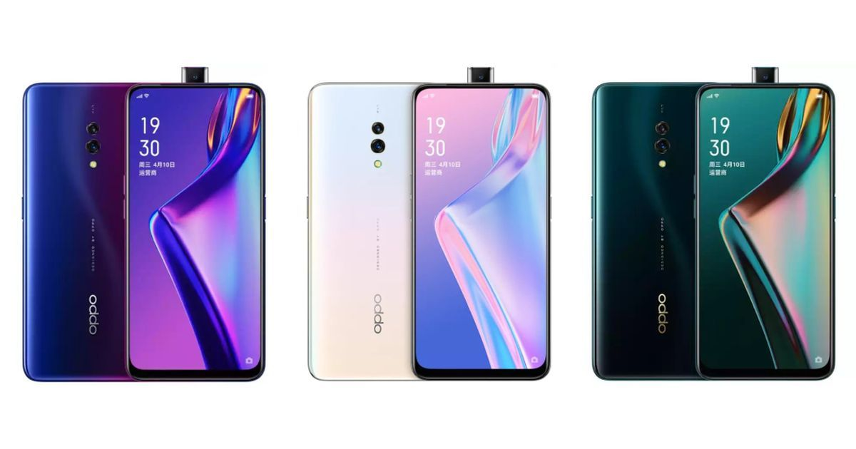 OPPO K3 with Snapdragon 710 and 16MP Pop-up Selfie Camera Launched in China