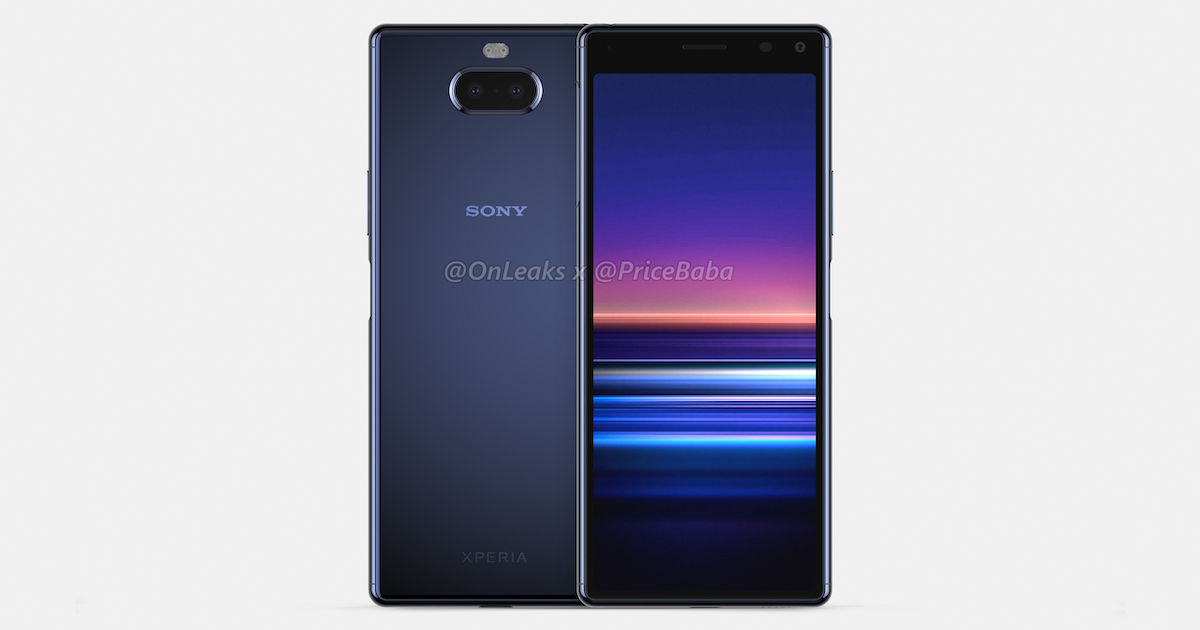 Exclusive: Sony Xperia 20 renders and 360-degree video