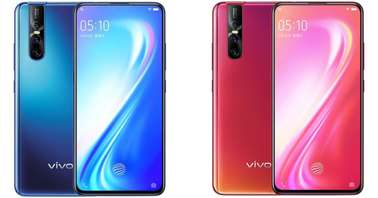 VIvo S1 Pro Love Blue Coral Red