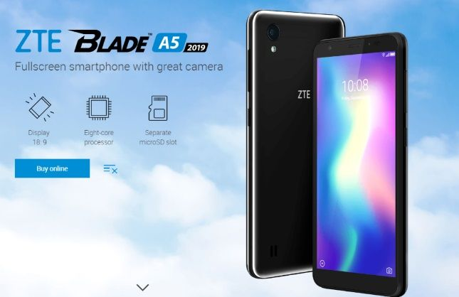ZTE Blade A5 2019 launched in Russia