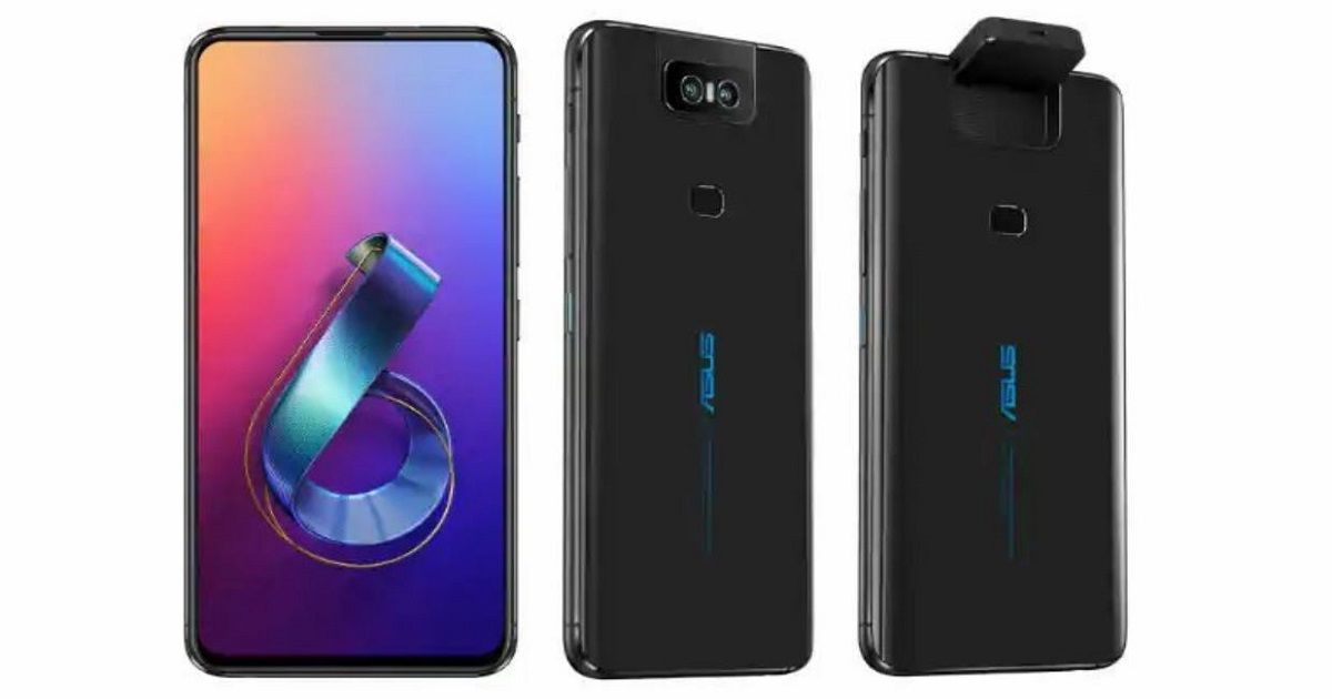 ASUS ZenFone 6 With Flip Camera And Snapdragon 855 Launched
