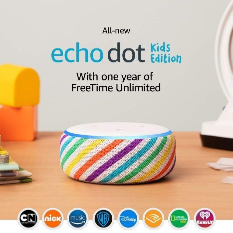 Amazon Echo Dot Kids Edition launched