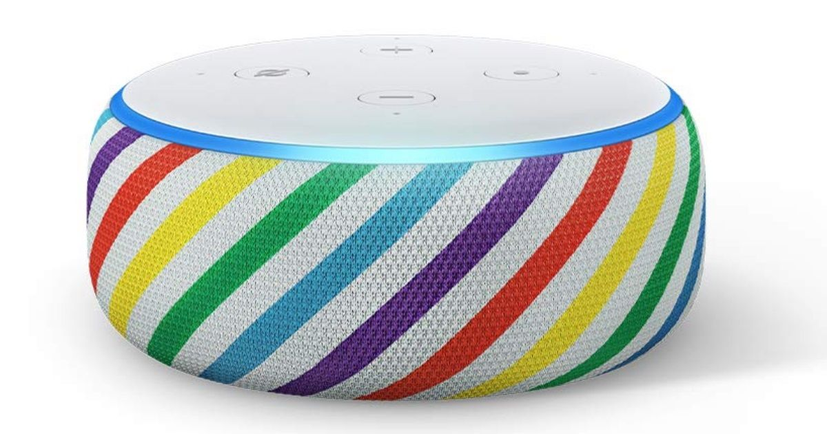 Amazon Echo Dot Kids Edition Launched, Comes In Blue And Rainbow Colours