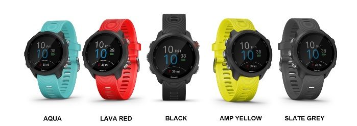 Forerunner 245 and Forerunner 245 Music launched
