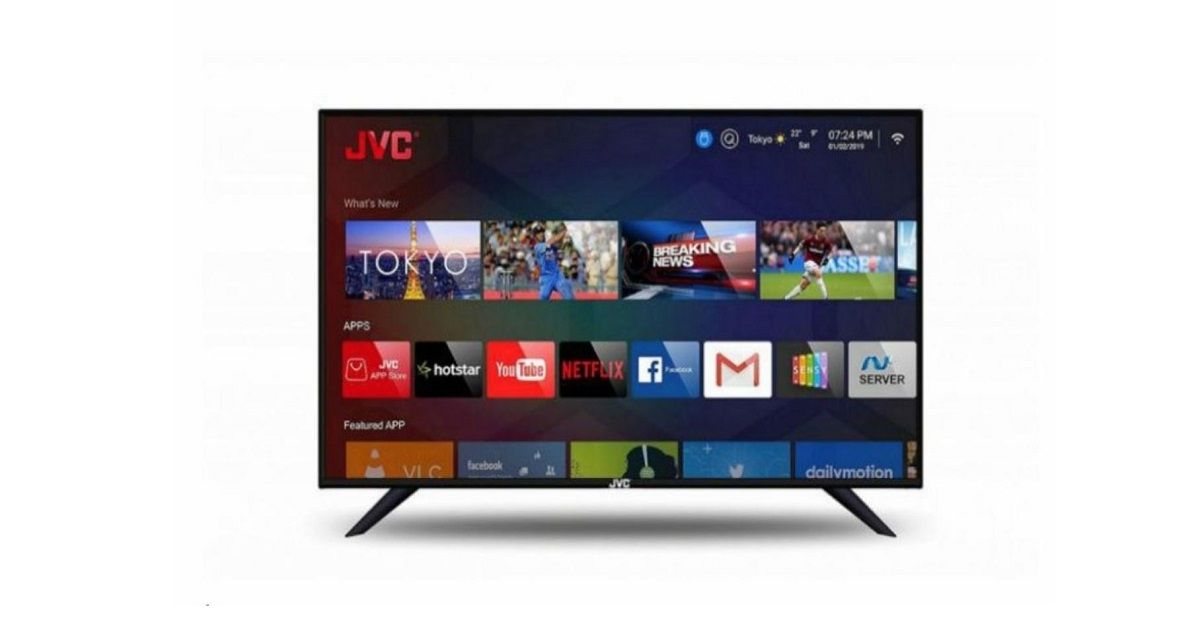 JVC Launches LED and Smart TV Range In India, Prices Start At Rs 7,499