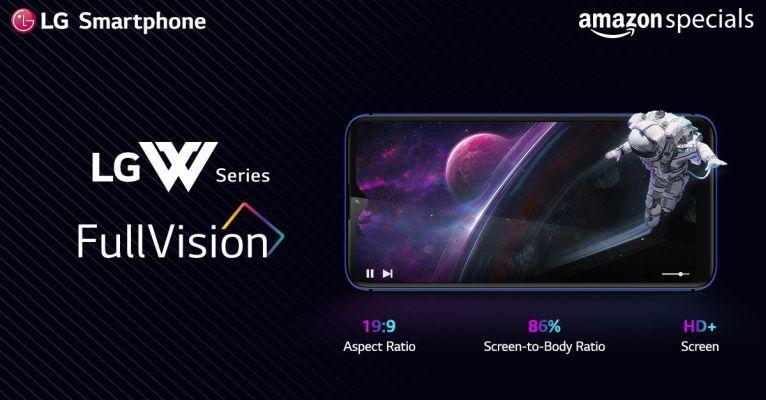 LG W-series display