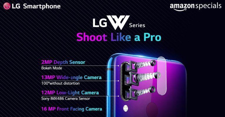 LG W30 Pro cameras