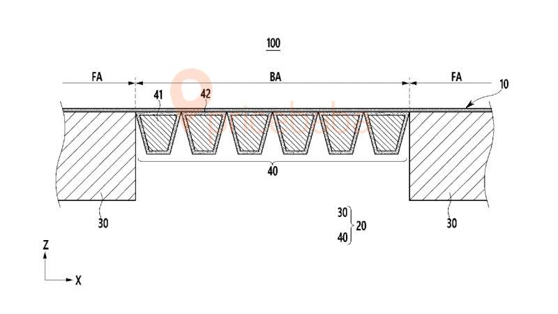 Samsung Galaxy Fold Hinge Patent 2