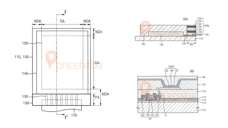 Samsung Galaxy Fold Watrproof Patent