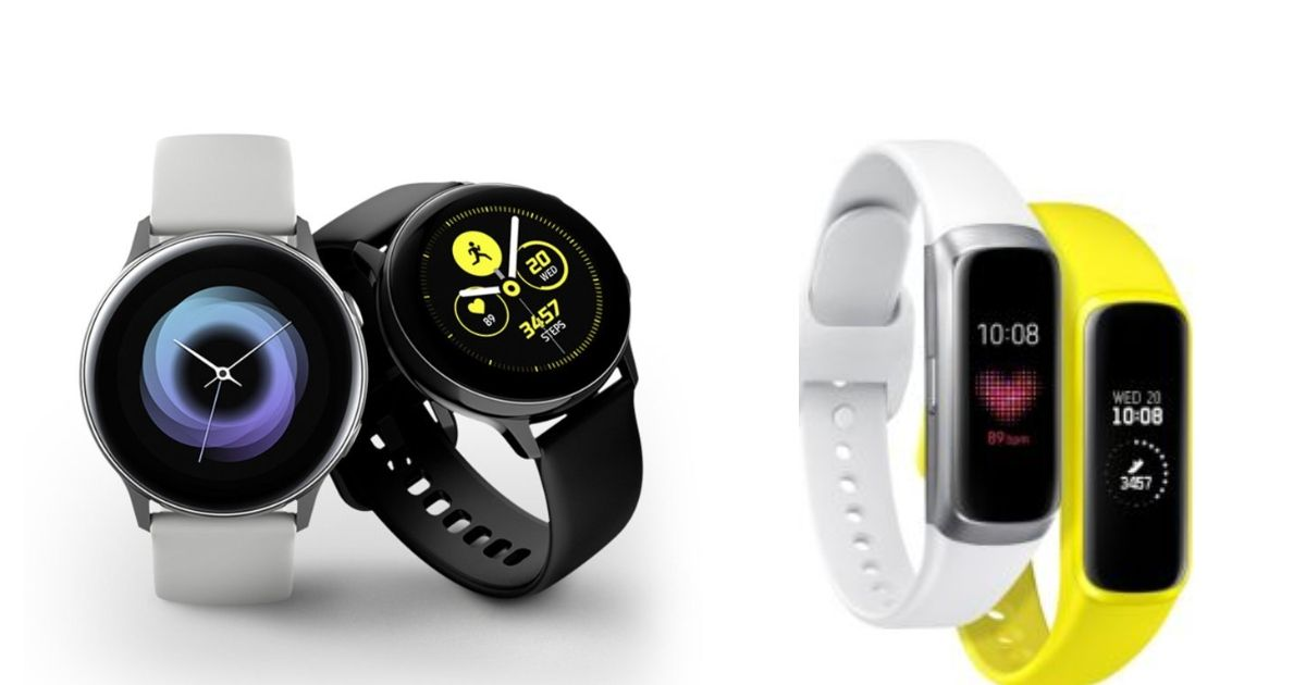 Samsung Galaxy Watch Active, Galaxy Fit and Galaxy Fit e Launched In India: Price, Specifications