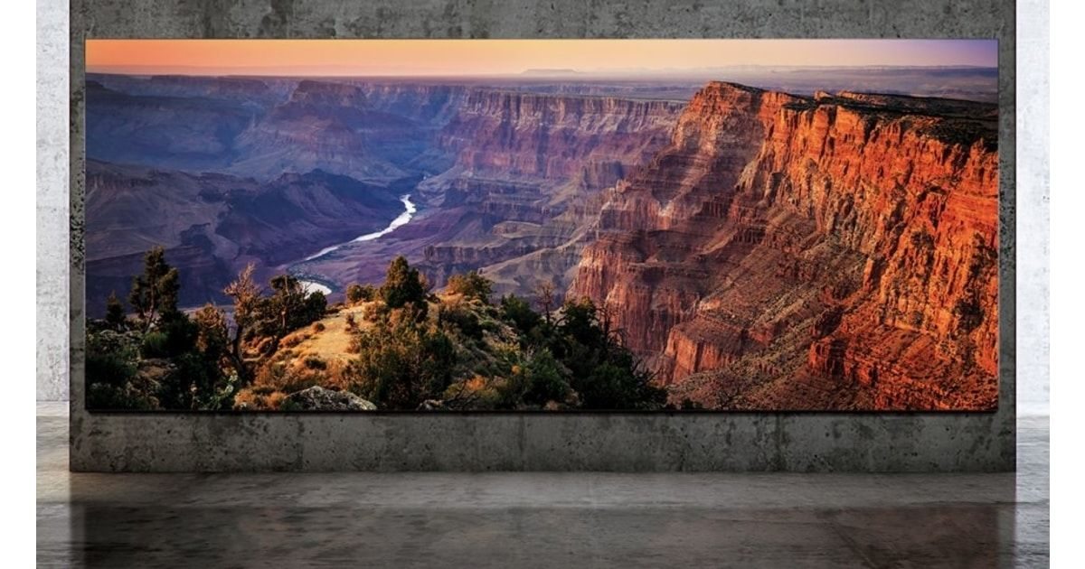 Samsung's 'The Wall Luxury' TV can now stretch up to 292-inches with 8K