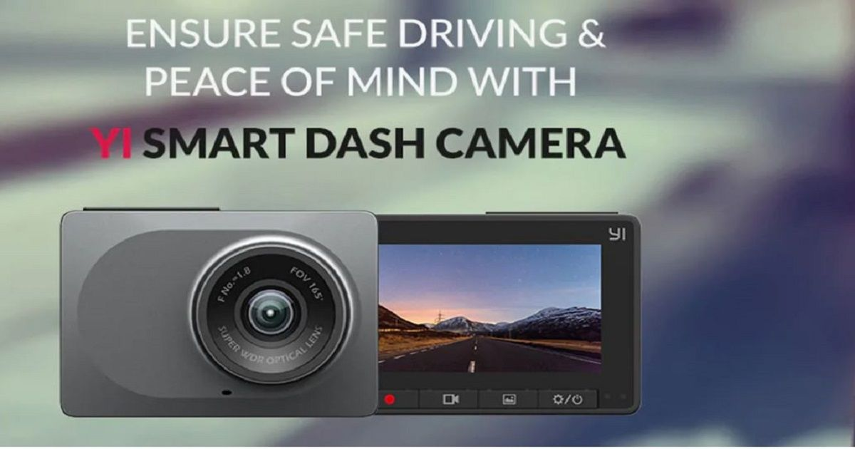 Yi Smart Dash Camera With Wide-Angle Lens Launched For Rs 5,200