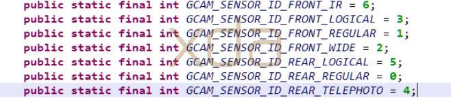 Google Pixel 4 telephoto lens in Google Camera code 2